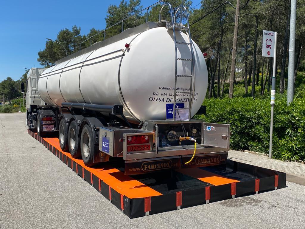 Складной поддон контейнер 4375 л